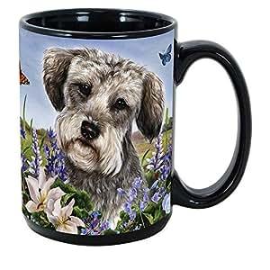 Imprints Plus 犬种 (R-Z) 425.24ml 咖啡杯捆绑装不可转让 K-Nine 现金(鼠梗 141) Schnoodle GP GB 152