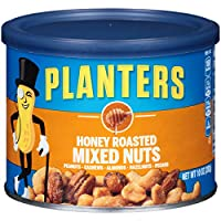 Planters 混合坚果,蜂蜜烤,4 支装,40 盎司