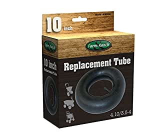 Tricam 农场和牧场 FR2300 替换轮胎管 适用于车轮和多功能车 10-Inch by 3.5-Inch 黑色 FR2300