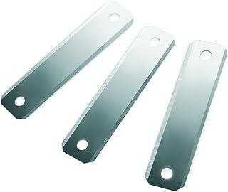 Ibili Set 3 刀片 Asparagus Peeler,不锈钢,多色,7 x 2 x 1厘米