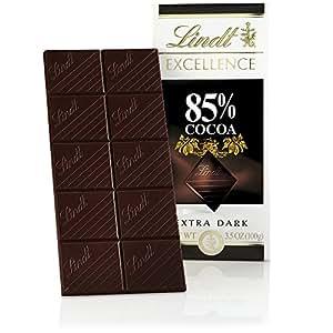 Lindt EXCELLENCE 深巧克力色,6盎司(12支装)