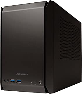 AS Enclosure RS01 PC外壳 黑色耐酸铝 ASE-RS01-BK