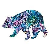 Next Innovations 小熊 Refraxions 3D 壁画, 小号 101410027-BELLFLOWER