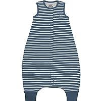 Woolino 4 Season Baby Sleep Bag with feet, Merino Wool Walker Sleep Bag or Sack, 0-3 Years 深蓝色 6-18mo