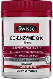 SWISSE Ultiboost CoQ10輔酶Q10 | 抗氧化劑| 150毫克,180片