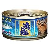 Akika 渔极 狗罐头 渔极金枪鱼块口味 减少泪痕 80g*24 箱装 DY81(进口)