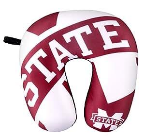 NCAA 密西西比州斗牛犬冲击颈枕,*红色