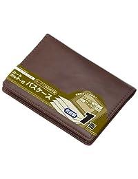 Raymay 藤井卡包卡套带1面皮革 棕色