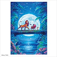Tenyo 1000片 拼图 狮子王 月亮 Hakunamatata(51×73.5厘米)