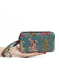HUNGRE 女式防水智能手机腕包,手包钱包适用于 iPhone 6 6S Plus / 7/7 Plus Q55208