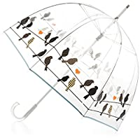 Totes 泡泡伞,电线上的鸟