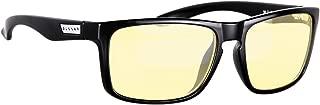 Gunnar Optiks INT-00110 Intercept 电脑眼镜配有工作游戏镜头、阻挡蓝光、防眩光、较大程度减少数字,更好,玛瑙/工作-Play