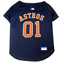 MLB 宠物服饰 .–*棒球球衣 T 恤 dugout 夹克迷彩球衣连帽 T 恤 ' s & 粉红色球衣带狗和猫有29MLB teams & 6尺寸。