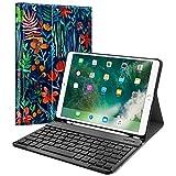 Fintie iPad Pro 10.5 键盘套内置苹果铅笔架 - SlimShell 保护盖磁性可拆卸无线蓝牙键盘 Apple iPad Pro 10.5