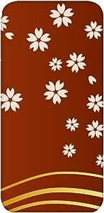 智能手机壳 透明 印刷 对应全部机型 cw-841top 套 花朵图案 花 樱花 UV印刷 壳WN-PR448247 Huawei LUMIERE 503HW B款