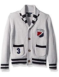 U.S. Polo Assn. 男童开衫毛衣