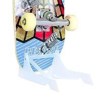 使用原装滑板支架放置滑板、存储或陈列空间|Skater Trainers 的 Origami 滑板鞋架