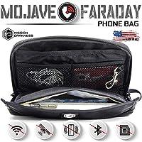 Mission Darkness Mojave Faraday 手機包/多功能旅行包帶配件口袋和內置 Faraday 袖/簽名屏蔽、防追蹤、防黑客、防間諜 Faraday 籠