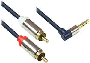 variations ,2X 3.5mm 音频高品质 micro-b MALE ,全金属外壳深蓝色0.5米