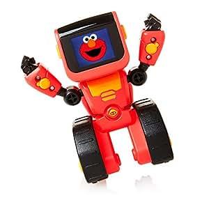 WowWee Elmoji表情编码机器人玩具,红色