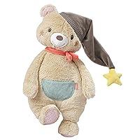 Fehn 060232 毛绒玩具熊 XL 超大超柔软的毛绒玩具 用于抓握 抚摸 抱抱和亲抚 适合 0 岁以上儿童 尺寸 42 厘米
