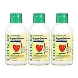 3瓶装 Childlife 童年时光 钙镁锌 成长营养液 474ml/瓶(6个月-12岁)酸奶口感不上火 美国品牌 包税