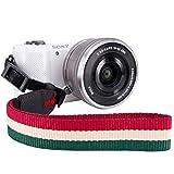 Elvam Camera Strap Nikon / Canon / Sony / Olympus / Samsung / Pentax DSLR / SLR Camera Neck Shoulder Strap for Men and Women EL-06