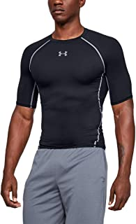 Under Armour 安德玛 HeatGear 男式短袖衫 男式高级面料紧身健身上衣