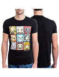 HBO 《权力的游戏》男式 Funko 角色盒 T 恤 黑色 X-Large