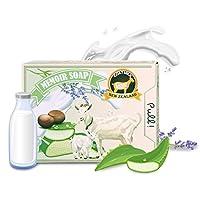 Memoir *婴儿肥皂 - 新西兰山羊奶,薰衣草精油,益生菌,非常适合香肠病,*,瘙痒,干和敏感肌肤 - 127.57 克沐浴露