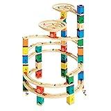 Hape Quadrilla系列轨道积木弹珠玩具
