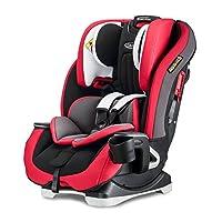 美国 Graco 葛莱 儿童汽车安全座椅基石系列8AE99RPLN红色(0-12岁)(超长使用期,4段背靠角度调节,10段头靠高度调节,五点式安全带存储格,加强型双侧撞击防护机制,钢管框架结构强化)