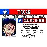 Signs 4 Fun Ncidwn Willie N's Driver's 许可证