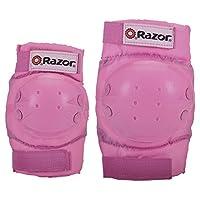 Razor 女孩护膝和护肘套装,粉色