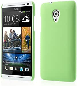 JUJEO Rubberized Plastic Case for HTC Desire 700 Dual SIM - Non-Retail Packaging - Green