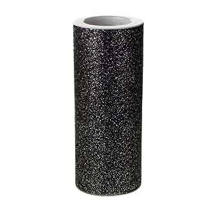 """闪光薄纱线轴织物网,15.24cm,10 码 黑色 6 """" FPF0360011BK"""