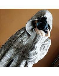 经典回眸 连帽宽松大麻花羊毛羊绒针织大衣外套女