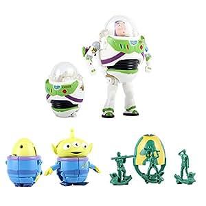 BANDAI万代迪士尼捣蛋总动员-玩具总动员-巴斯光年与朋友们玩具E85274/E85274-1