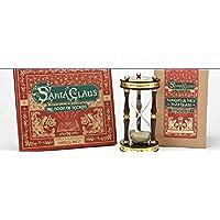 Roman Inc. Santa Claus The Book Of Secrets and Naughty or Nice Year 玻璃小时沙漏计时器 2 件套