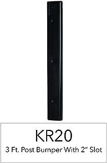 "RITE-HITE K & R 制造船码头配件 - KR20 3' 2"" 槽柱船码头保险杠"