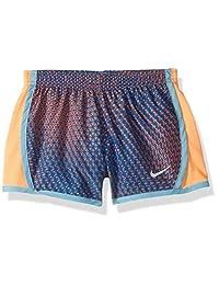 Nike 耐克女童速干短裙 Signal Blue/Orange 6
