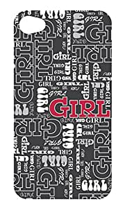 Gift Trenz Kangaroo Lab Ultra Thin Hey Girl! iPhone 4/4s Case - Retail Packaging - Multicolor