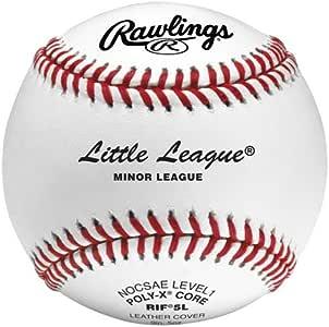 Rawlings Little League Level 1 Training Baseballs white/red stitch One Dozen Baseballs