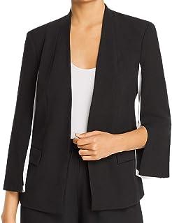 LE GALI 女式黑色条纹西装外套工作外套尺码 M