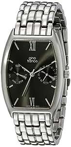 Gino Franco 男士 966gy 多功能青铜离子镀不锈钢表链手表