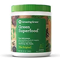 Amazing Grass Green SuperFood Original营养食物粉 30餐量 8.5盎司(240克)