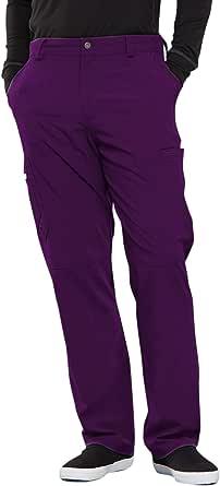 Cherokee Infinity 男式前门襟磨砂裤 茄紫色 X-Small