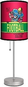 Lamp-In-A-Box SPS-TOP-FB80W Topps-Topps 橄榄球 1980 气泡糖包装银色运动灯,