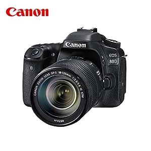 Canon 佳能 EOS 80D 专业数码单反相机套机 (搭配18-135 IS STM镜头)