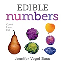 Edible Numbers: Count, Learn, Eat (English Edition)